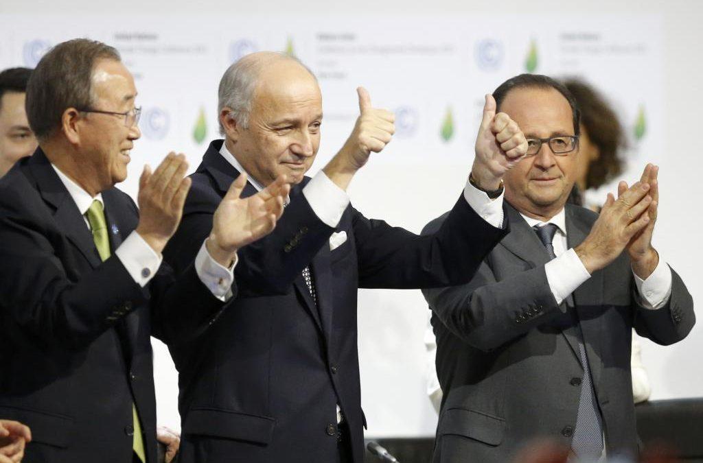 El Acuerdo de París, listo para ser aprobado