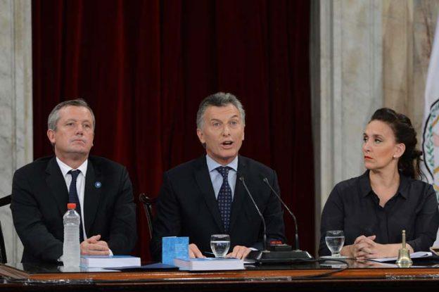 Macri abrió un nuevo periodo en el Congreso y se refirió al campo