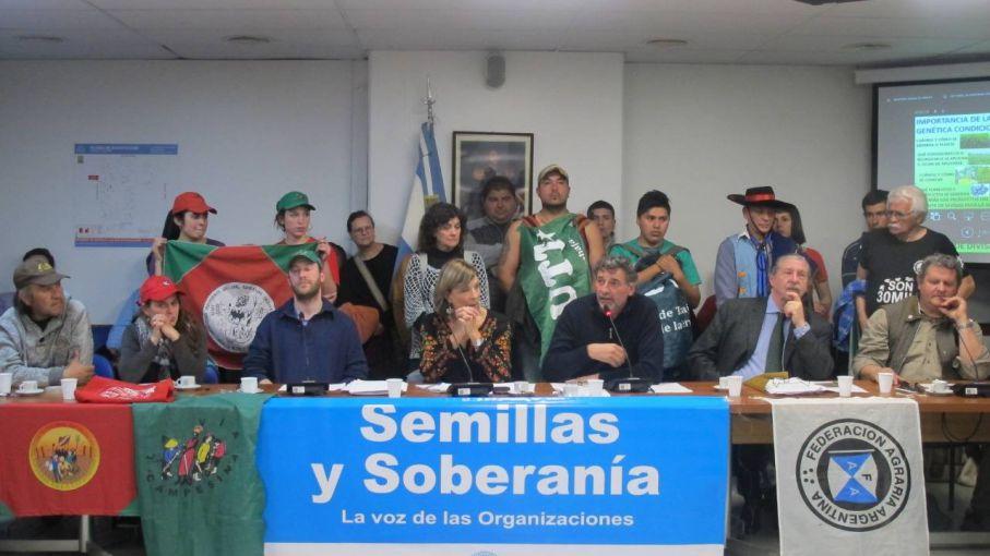 Semillazo: Federación Agraria presentó su proyecto de semillas y recibió el apoyo de diputados opositores