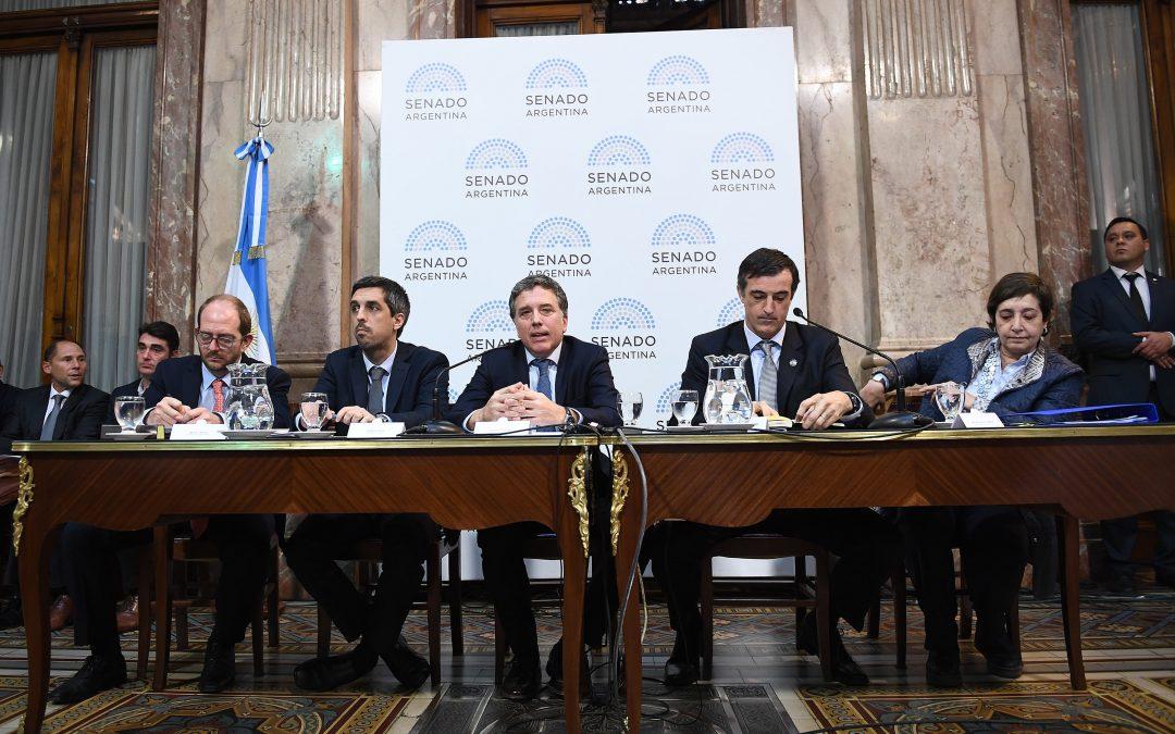Presupuesto 2019: Dujovne defendió la media sanción