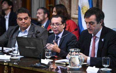 Presupuesto 2019: Dante Sica, junto a la cartera agro, expuso en Senado