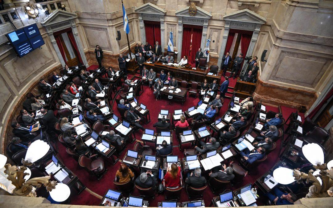 Senado sancionó proyectos para el agro
