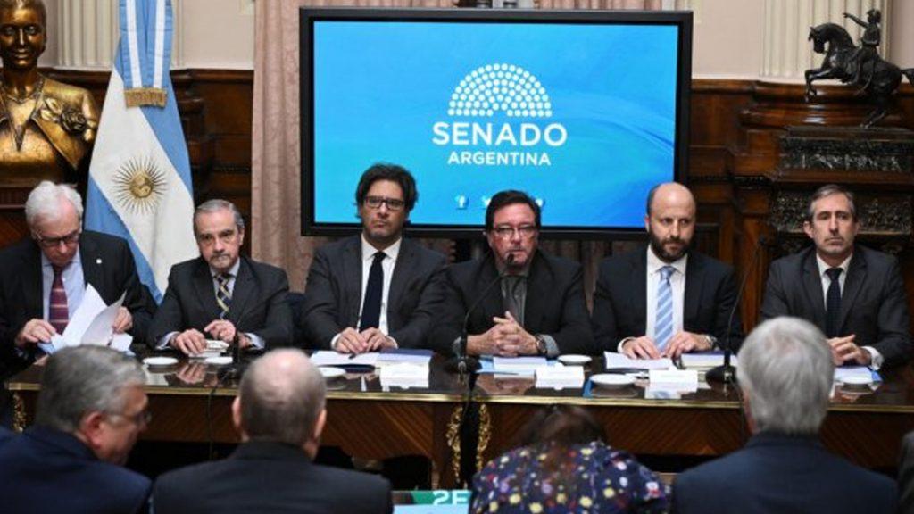 Garavano presentó el nuevo Código Penal en el Senado