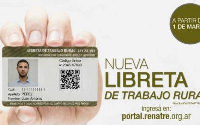 Libreta de Trabajador Rural: senadores dictaminaron aumentar las multas