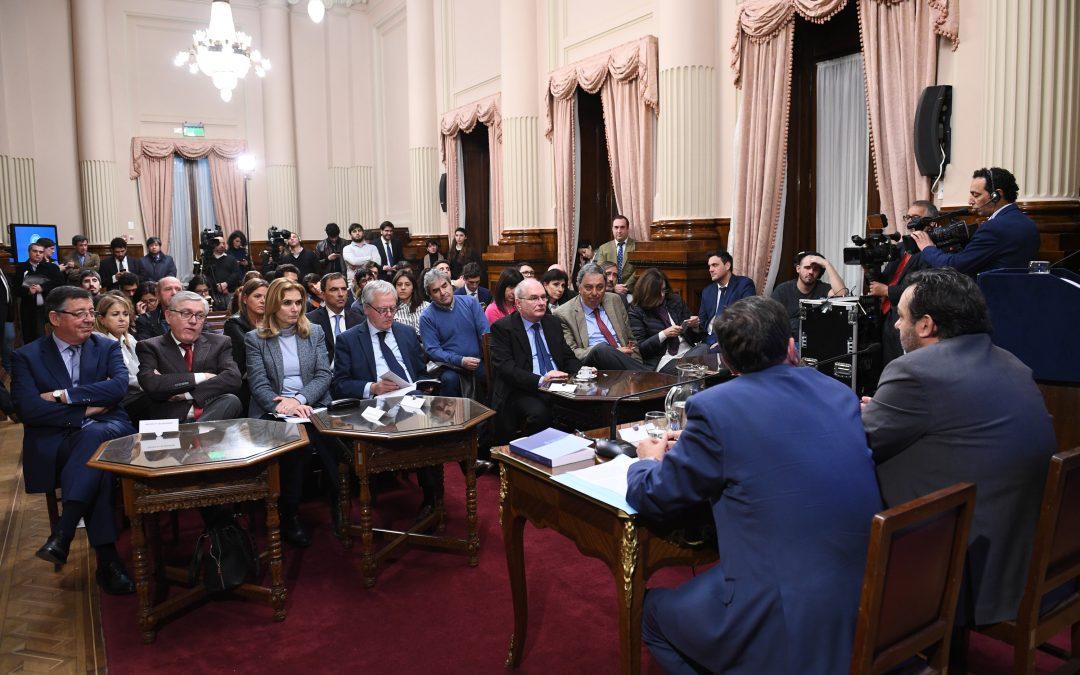 Código Penal: continúan las reuniones informativas