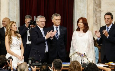 ALBERTO FERNÁNDEZ ASUMIÓ ANTE LA ASAMBLEA LEGISLATIVA