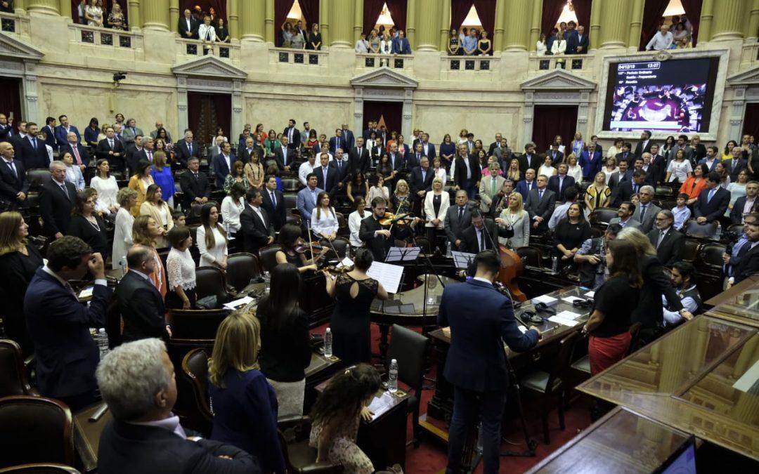Juraron los 130 nuevos Diputados Nacionales