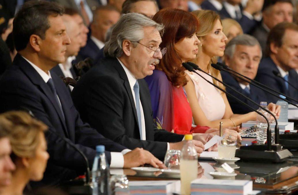 ALBERTO FERNÁNDEZ INICIÓ EL PERIODO DE SESIONES ORDINARIAS, CON REFERENCIA AL CAMPO