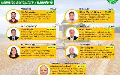DIPUTADOS: AGRICULTURA Y AMBIENTE QUEDARON PARA EL FRENTE DE TODOS
