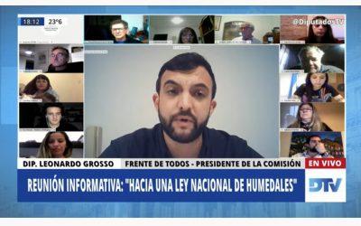 LA LEY DE HUMEDALES OBTUVO DICTAMEN DE COMISIÓN