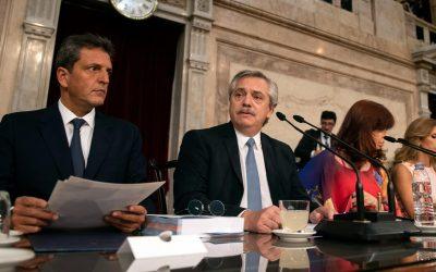 Enero sin actividad legislativa: se postergó por segunda vez la vuelta al recinto, aunque Fernández volvió a ampliar el temario
