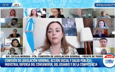 LEY DE ETIQUETADO: DIPUTADOS ARRANCÓ LA DISCUSIÓN DE LA LETRA CHICA Y ESTÁ A UN PASO DE EMITIR DICTAMEN
