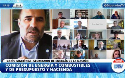 DIPUTADOS REALIZÓ UNA NUEVA REUNIÓN INFORMATIVA POR BIOCOMBUSTIBLES CON LA PRESENCIA DE DARÍO MARTÍNEZ, SECRETARIO DE ENERGÍA