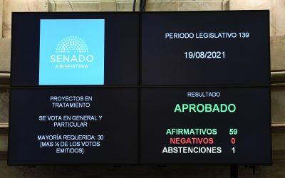 SENADO: MEDIA SANCIÓN PARA EL RECICLADO DE NEUMÁTICOS FUERA DE USO Y PARA CREAR UN COMITÉ DE LA REGIÓN HÍDRICA DE LOS BAJOS SUBMERIDIONALES